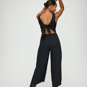 NWT Wilfred Black Ecoulement Black Jumpsuit